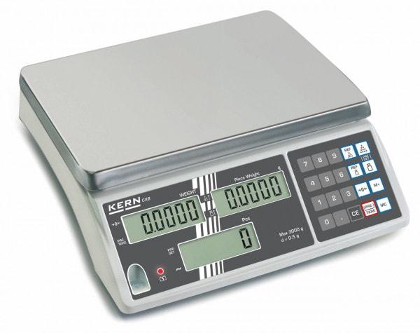 KERN Bilancia contapezzi - 3000 g / 1 g - Calibrazione opzionale