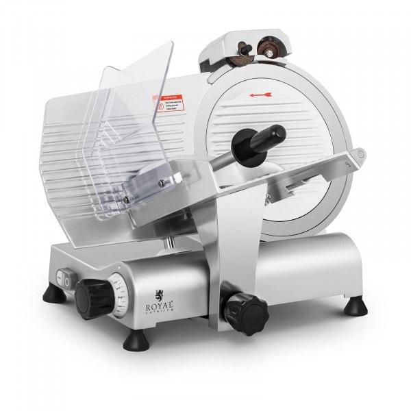 Affettatrice professionale elettrica - Ø 300 mm - 0-11 mm - con affilacoltelli