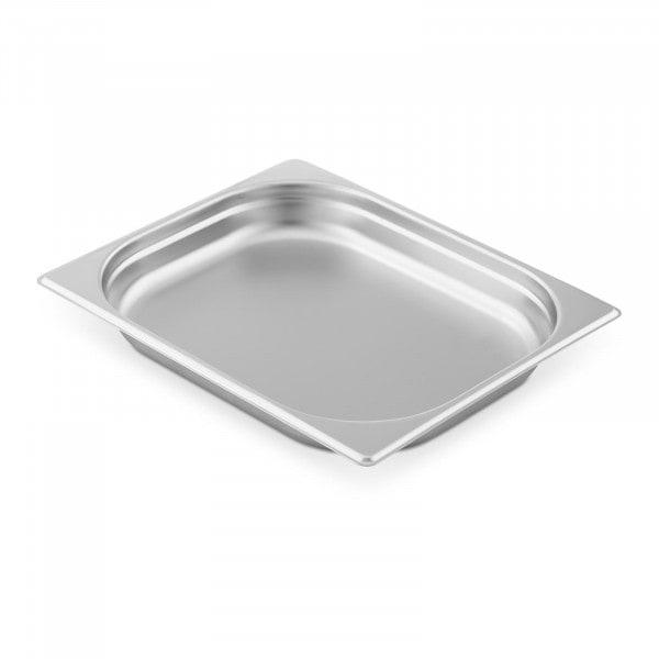 Contenitore gastronorm acciaio inox - 1/2 - 40 mm