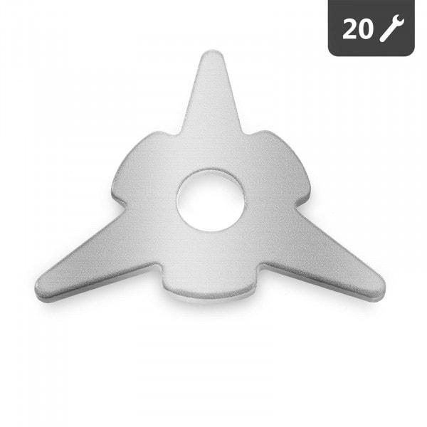 Rondella a 3 punte spotter - 20 pezzi
