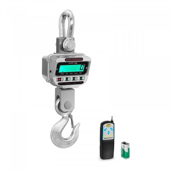 Bilancia a gancio - 10 t / 2 kg - LCD