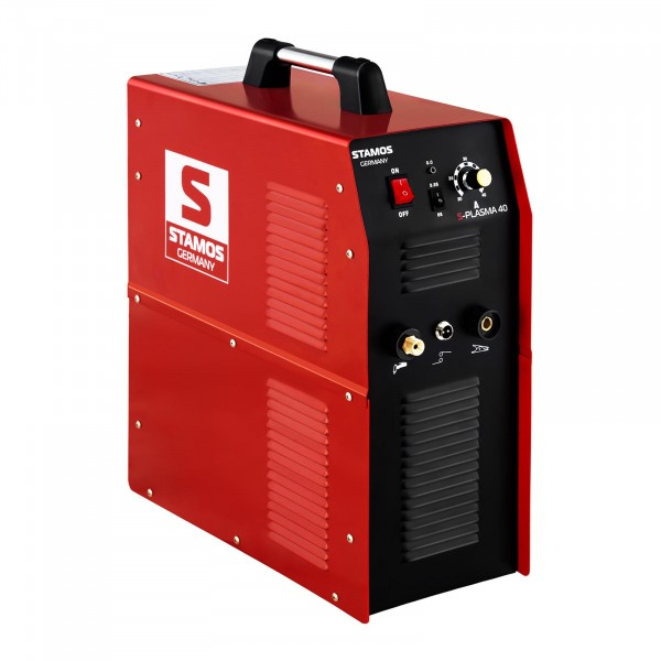 B-WARE Tagliatrice al plasma - 40 A - 230 V - compressore ad aria integrato