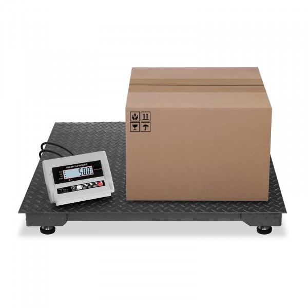 Bilancia da pavimento - 1.000 kg / 0.5 kg - LCD
