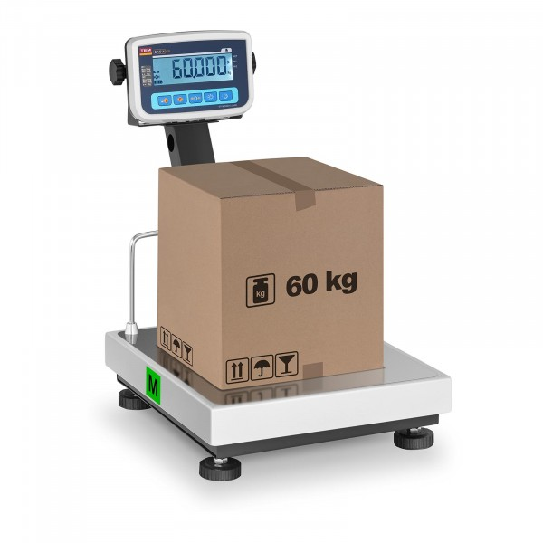 Bilancia a piattaforma - tarabile - 60 kg / 20 g