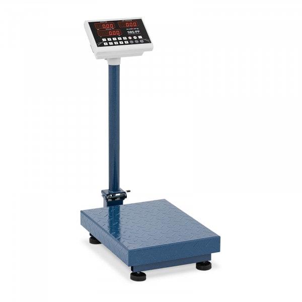 Bilancia a piattaforma - 100 kg /10 g - pieghevole