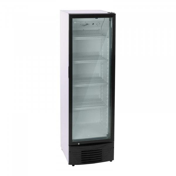 Vetrina frigo per bibite - 320 L - LED - Telaio nero