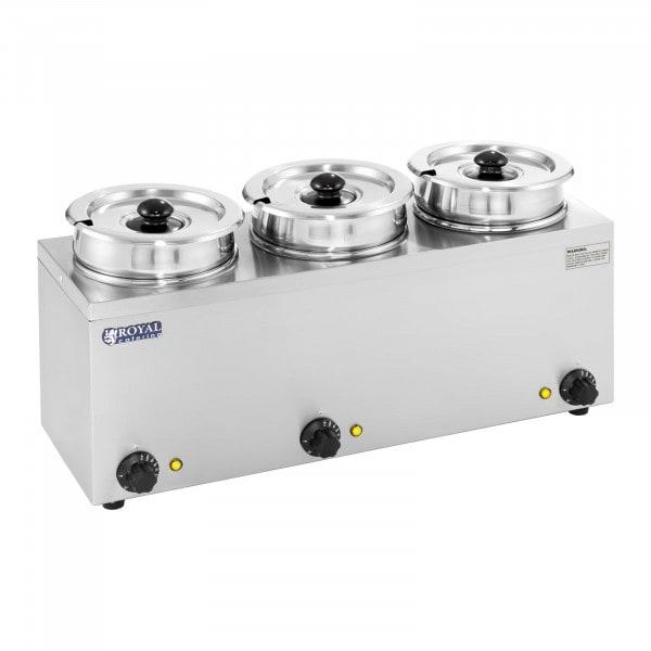 Suppenstation - 3 x 2,75 Liter - 450 W - 1577 - 1
