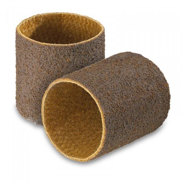 Nastro abrasivo set da 2 - Vello abrasivo in nylon - Grana grossa