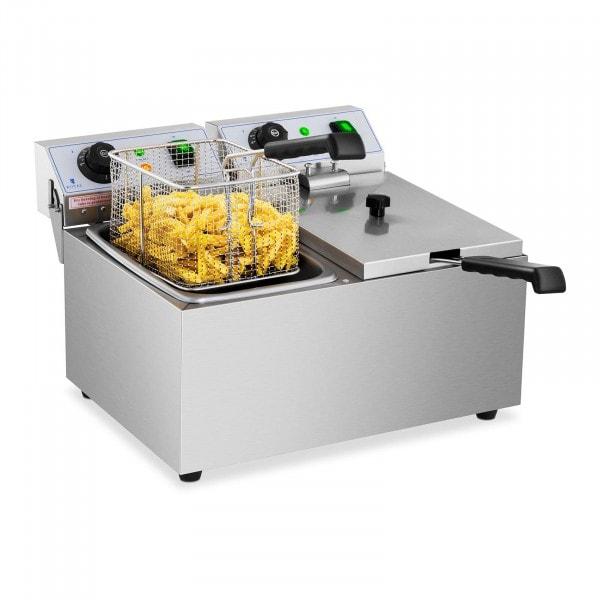 Friggitrice elettrica - 2 x 8 litri - 230 V
