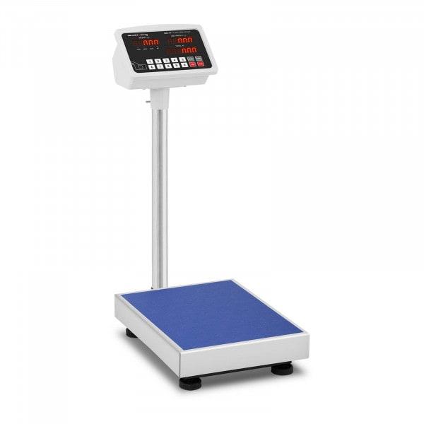 Bilancia a piattaforma - 100 kg / 10 g - LED