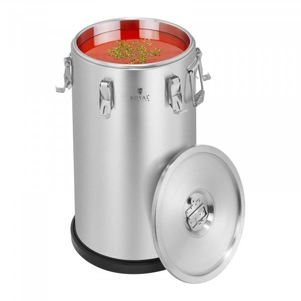 Contenitore isotermico in acciaio inox - 35 L