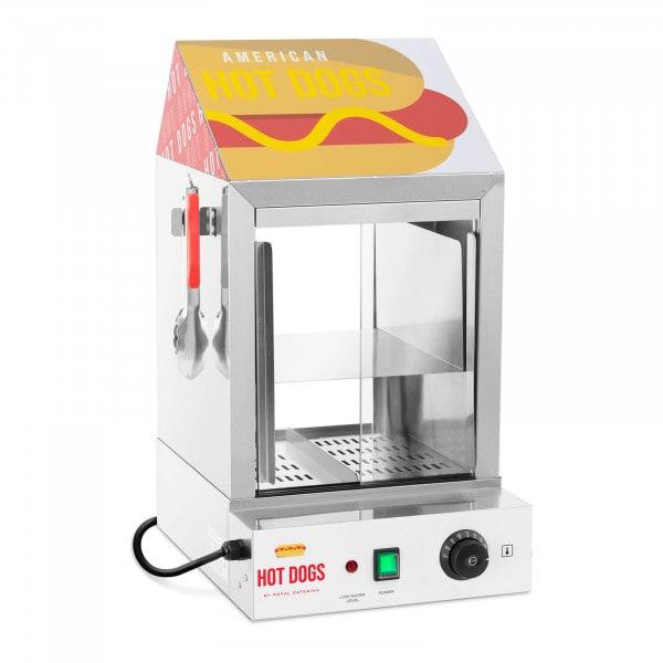 Macchina per hot dog - 100 wurstel - 25 panini - 1.000 W