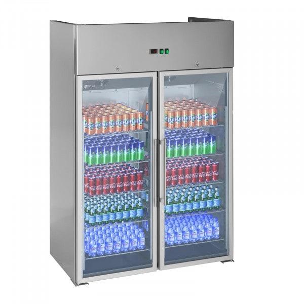 Vetrina frigo con due porte in vetro - 984 L