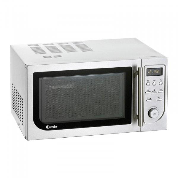 Bartscher Forno a microonde - 25 litri - 900 W - Ventilato e con grill - Digitale
