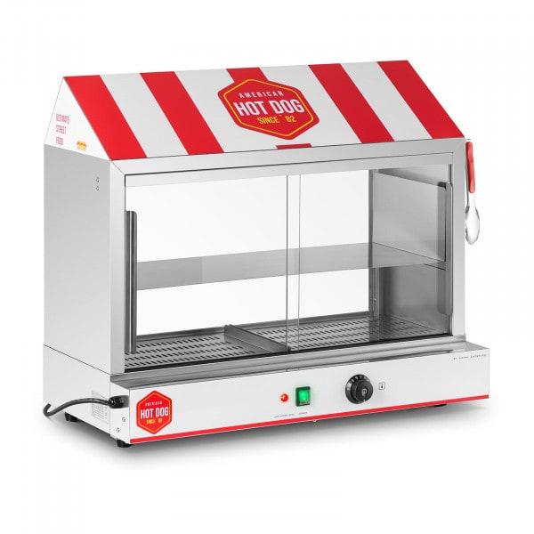 Macchina per hot dog - 300 wurstel - 100 panini - 2.400 W