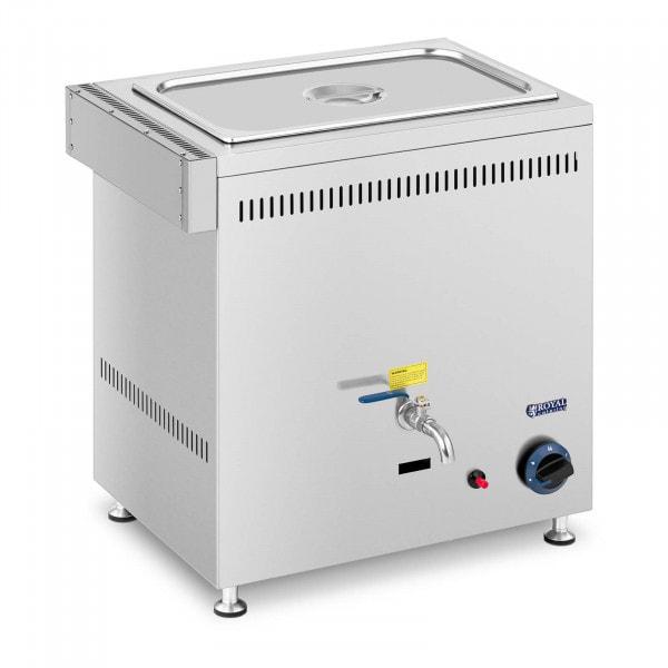 Bagnomaria a gas - 3300 W - GN 1x 1/1 - 0,02 bar - G20
