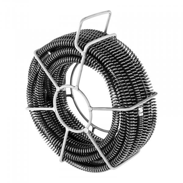 Sonda spurgatubi professionale set - 6 x 2,45 m - Ø 16 mm