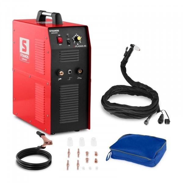 Tagliatrice al plasma - 40 A - 230 V - compressore ad aria integrato