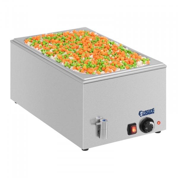 Bagnomaria professionale - GN 1/1 - Senza contenitore - Con rubinetto di scarico