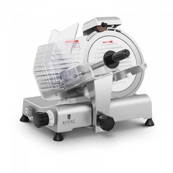 Affettatrice professionale elettrica - Ø 250 mm - 0-8 mm - con affilacoltelli