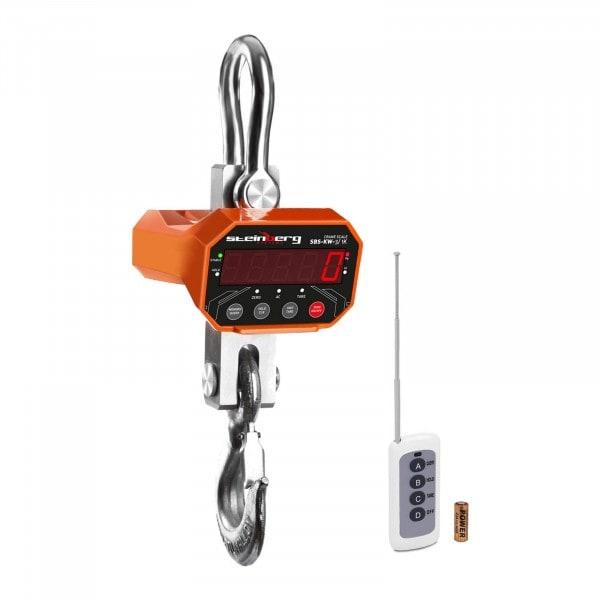 Bilancia a gancio - 3 t / 1 kg - LED