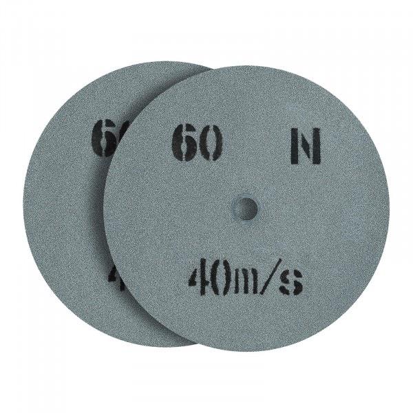 Mola per smerigliatrice - 200 x 20 mm - Grana 60