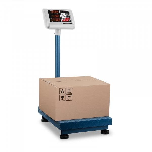 Bilancia a piattaforma - 300 kg / 50 g - 40 x 50 cm - compatta