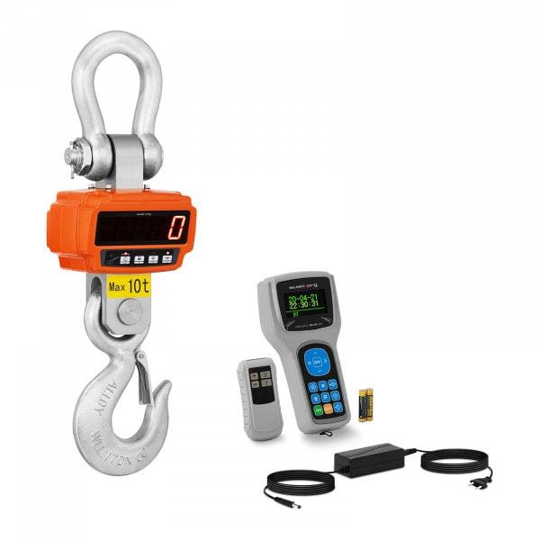 Bilancia a gancio - 10 t / 2 kg - Remote Display
