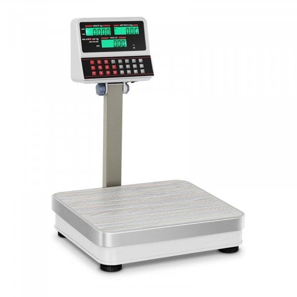 Bilancia da banco di controllo - 60 kg / 5 g - Bianca - LCD