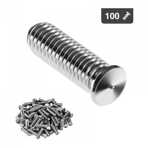 Perni a saldare - M5 - 15 mm - Acciaio inox - 100 pezzi