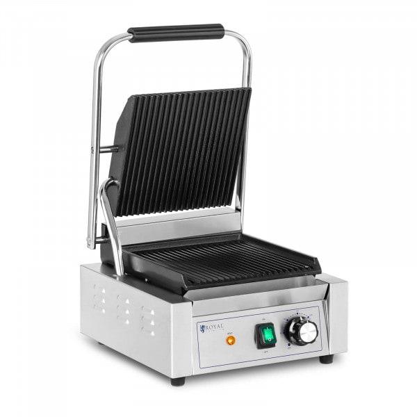 Piastra per panini, toast e bistecchiera elettrica - 1800 W - Rigata
