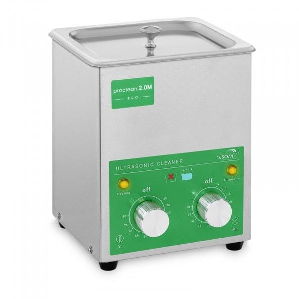 Lavatrice a ultrasuoni - 2 Litri - 60 W - Basic Eco