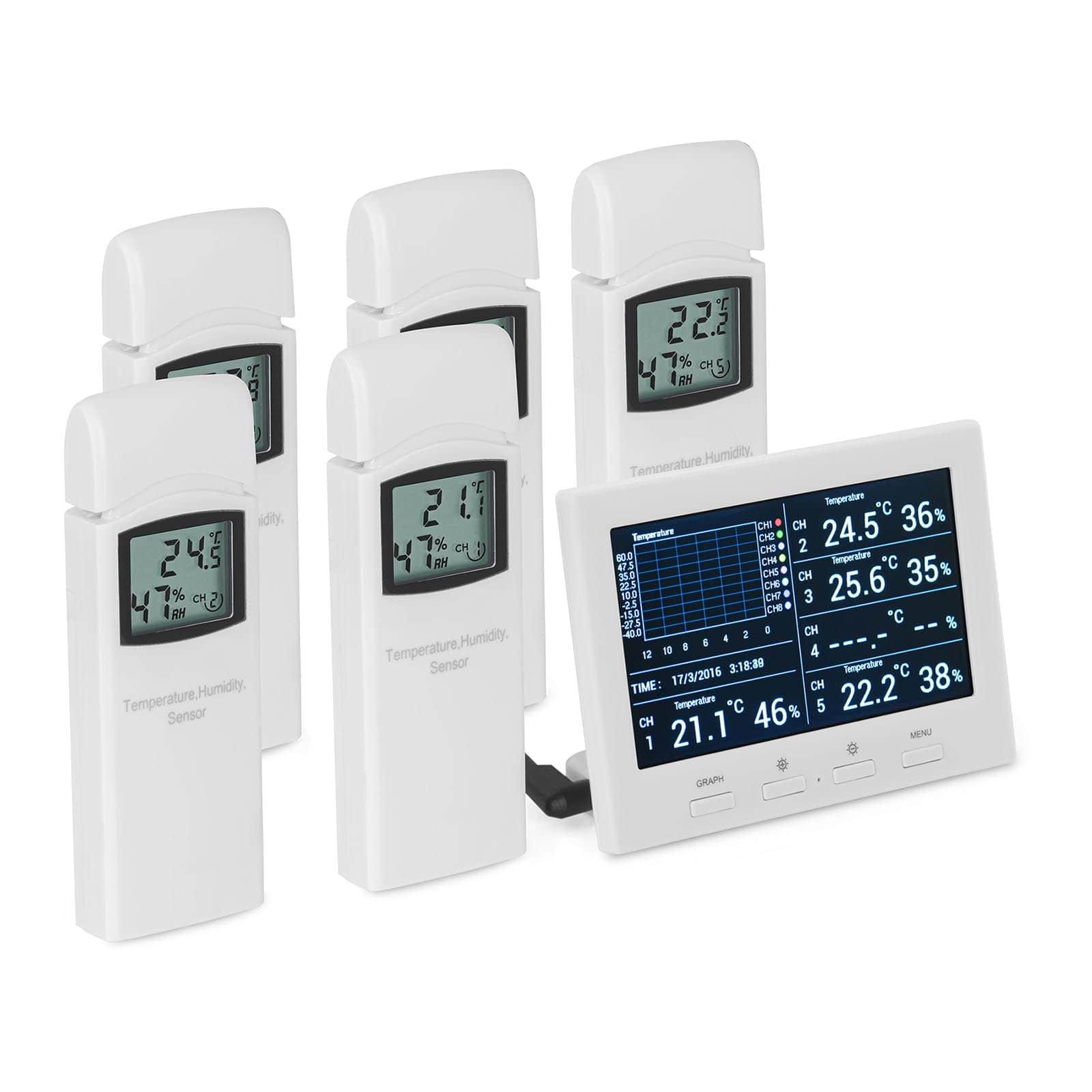 Data logger per temperatura e umidità