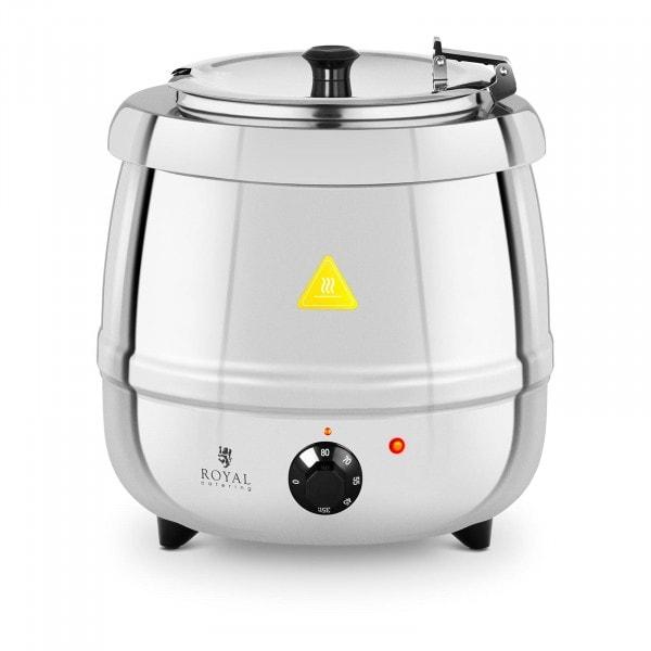 Zuppiera elettrica - 10 L - 400 W - acciaio inox