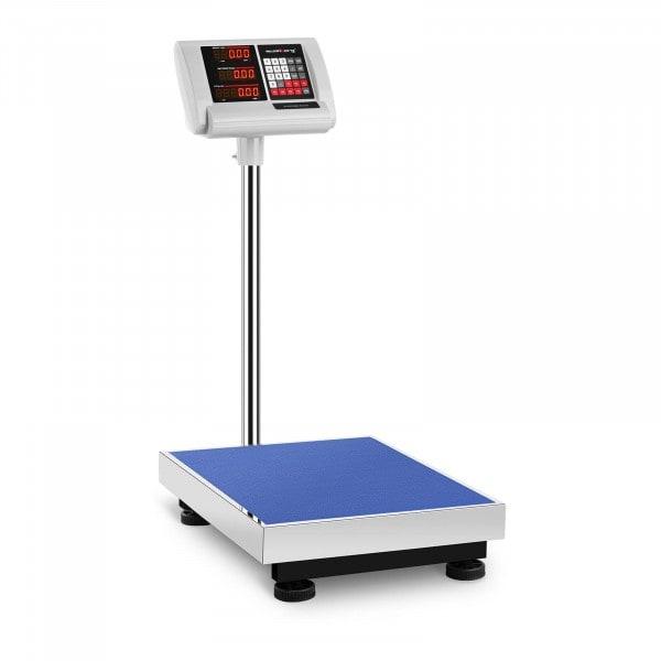 Bilancia a piattaforma - 150 kg / 10 g - 60 x 45 cm