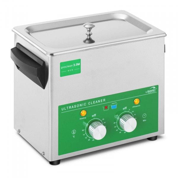 Lavatrice a ultrasuoni - 3 Litri - 80 W - Basic Eco