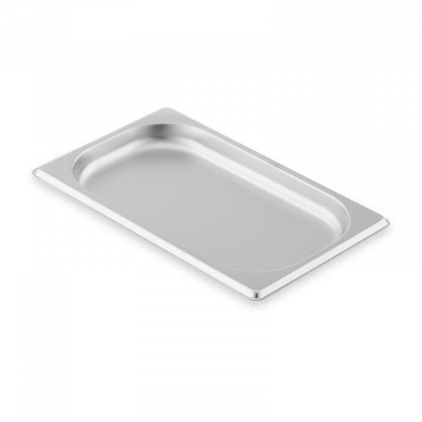 Contenitore gastronorm acciaio inox - 1/4 - 20 mm