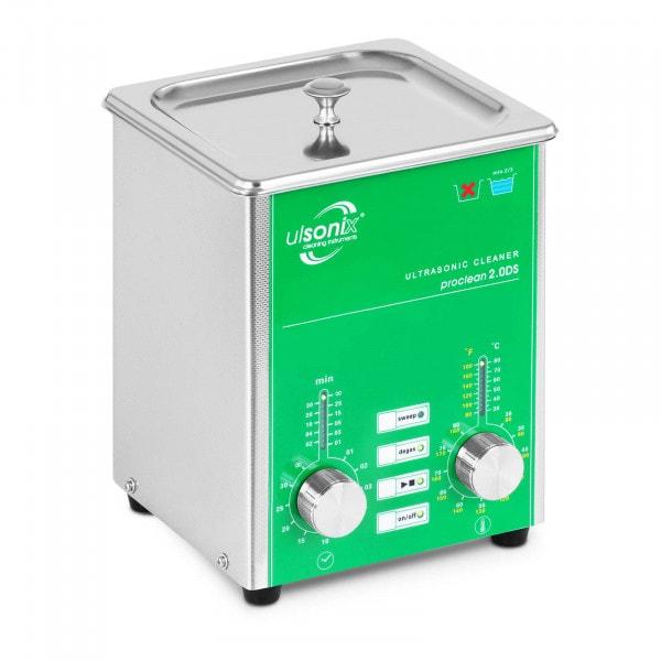 Lavatrice a ultrasuoni - 2 Litri - Scarico gas - Sweep
