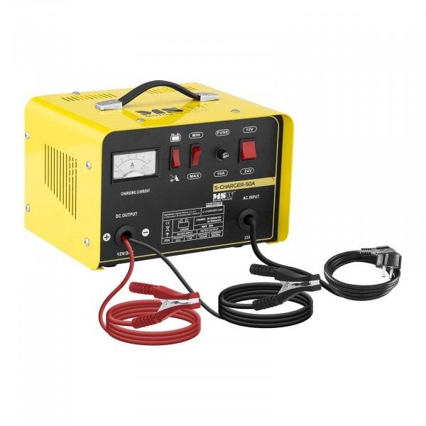 Caricabatterie per auto professionale - avviamento rapido - 12/24 V - 20/30 A