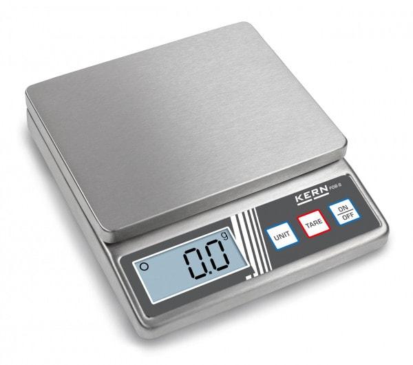 KERN Bilancia da tavolo FOB 5K1S 5 kg / 1 g