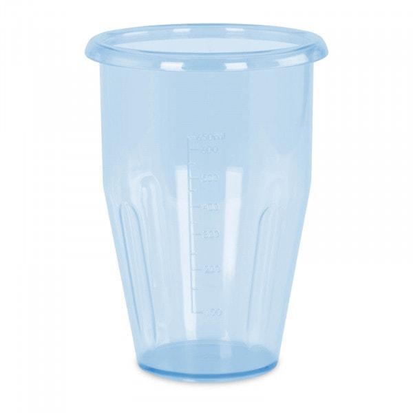 Bicchieri per frappè - 0,75 L - Tritan - 115 x 160 mm - Blu
