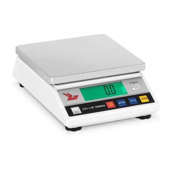 B-WARE Bilancia di precisione - 10.000 g / 0,1 g