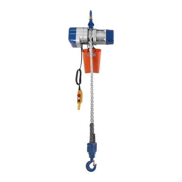 Paranco elettrico a catena - 2.000 kg - 6 m
