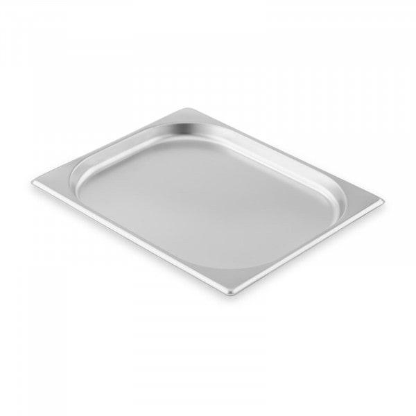 Contenitore gastronorm acciaio inox - 1/2 - 20 mm