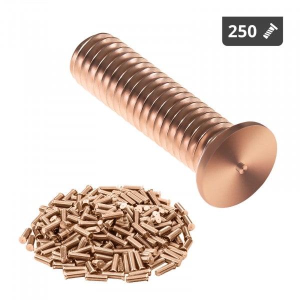 Perni a saldare - M3 - 12 mm - Acciaio - 250 pezzi