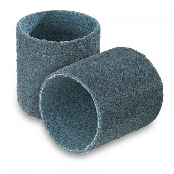Nastro abrasivo set da 2 - Vello abrasivo in nylon - Grana fine