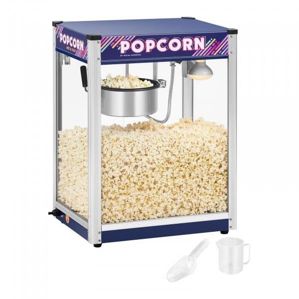 Macchina per pop corn - blu - 8 oz