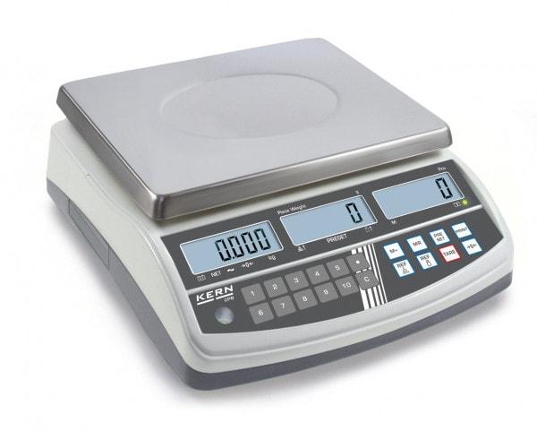 KERN Bilancia contapezzi - 6000 g / 1 g - Calibrazione opzionale