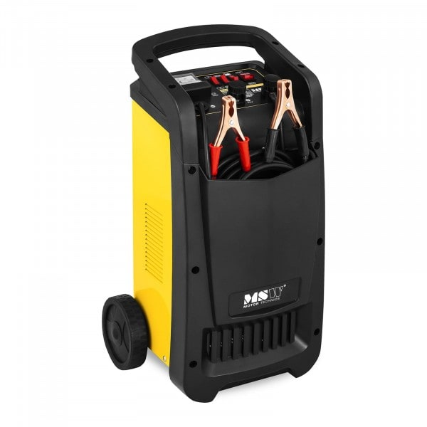 B-WARE Caricabatterie per auto professionale - avviamento rapido - 12/24 V - 70 A - compatto