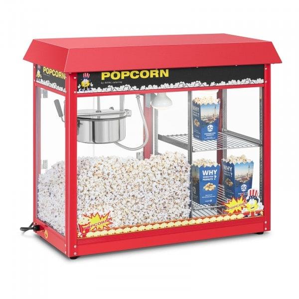 Macchina per popcorn - vetrina riscaldata - rossa